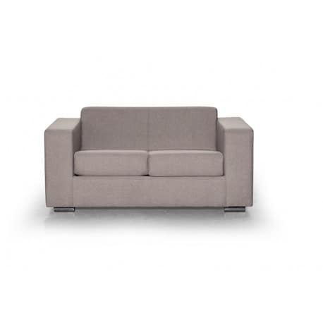 Canapé droit 2 places