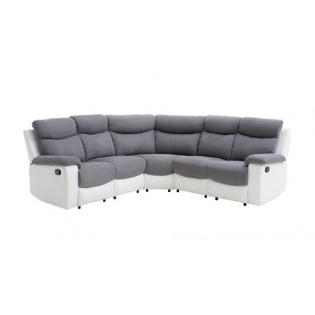 Canapé d'angle de relaxation 5 places