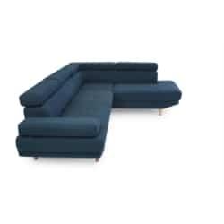 RX032 - Canapé d'angle droit style scandinave en tissu