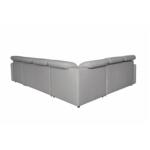 ADRIATIK - Canapé panoramique modulable convertible avec coffre en tissu