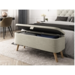 WSS956 - Bout de lit avec rangement en tissu