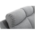 OSSF10 - Canapé de relaxation panoramique 6 places en tissu