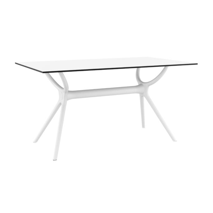 MALTA - Table 140 cm stratifié HPL pour l'intérieur et l'extérieur