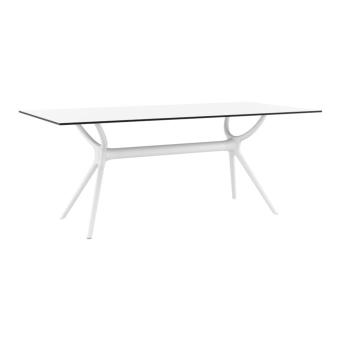 MALTA - Table 180 cm stratifié HPL pour l'intérieur et l'extérieur