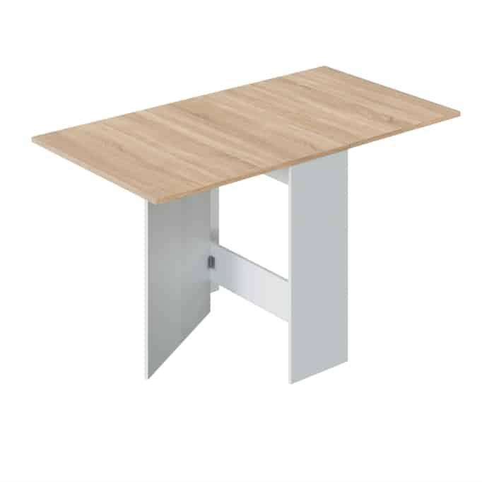 Table auxiliaire extensible L31/140 x P77 cm