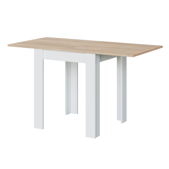Table auxiliaire extensible L67/134 x P67cm