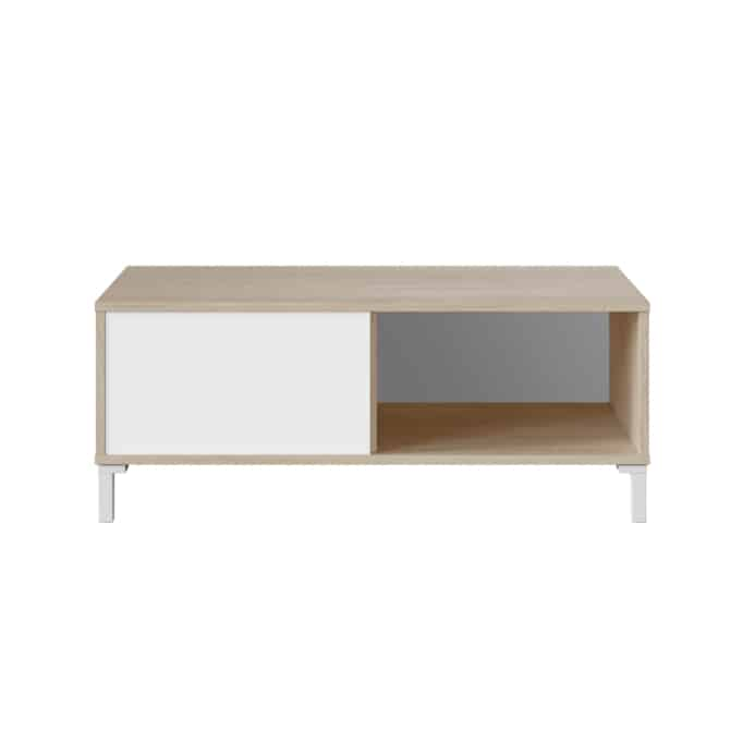 Table basse 2 niches L100 cm