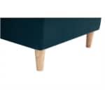 POLAR - Canapé d'angle convertible réversible en tissu