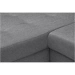 MILA - Canapé panoramique convertible en tissu