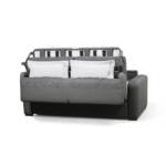 DYLAN - Canapé convertible système couchage express 3 places en tissu