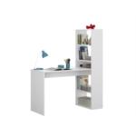 Bureau réversible avec étagère de rangement L120 cm