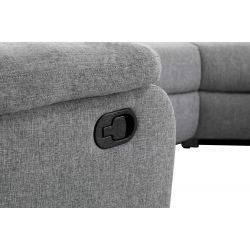 9121U - Canapé panoramique de relaxation 8 places en tissu