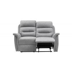 9222 - Canapé 2 places de relaxation en tissu