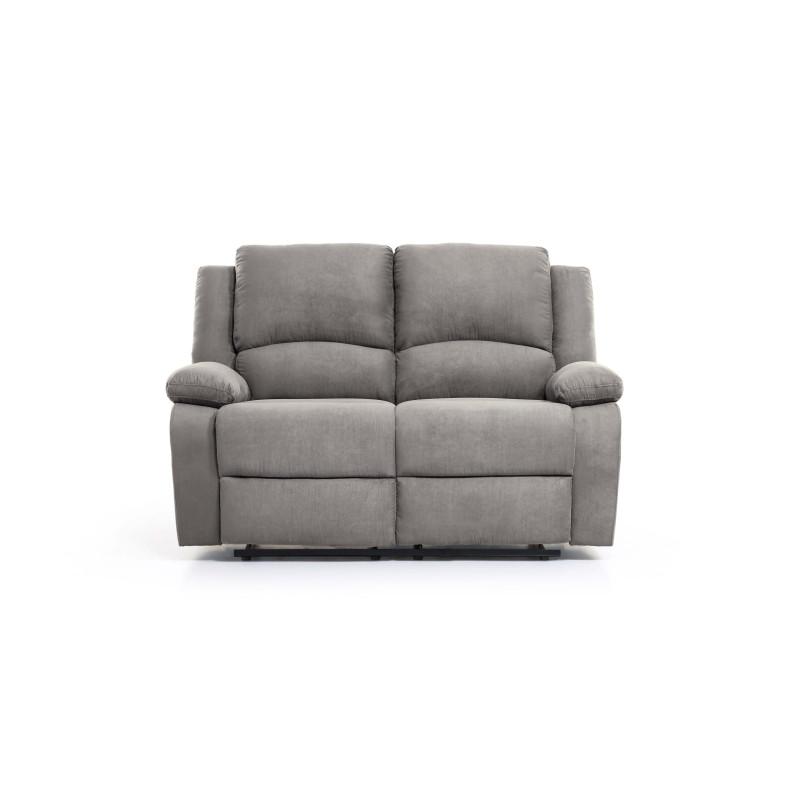 9121EE - Canapé de relaxation électrique 2 places en microfibre
