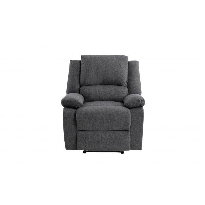 9121 - Fauteuil de relaxation manuel en tissu