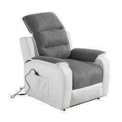 FAR06 - Fauteuil de relaxation électrique releveur en tissu et simili