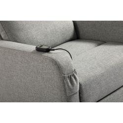 OSSFL882 - Fauteuil de relaxation électrique releveur en tissu
