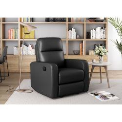 OSSFL882 - Fauteuil de relaxation manuel en simili