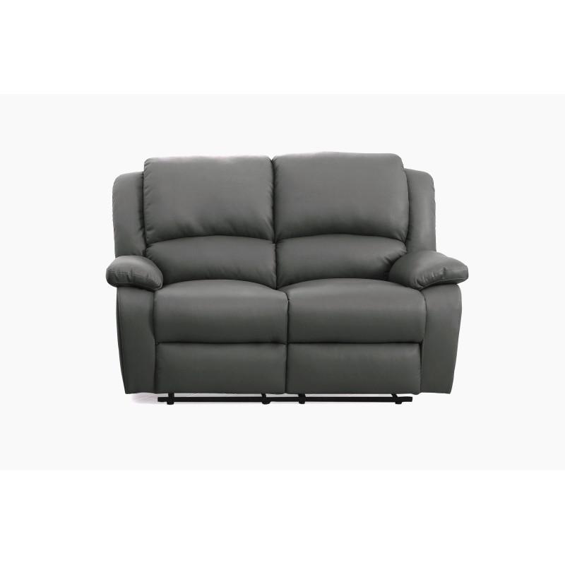 9121EE - Canapé de relaxation électrique 2 places en simili