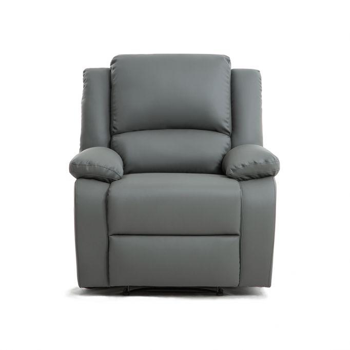 9121 - Fauteuil de relaxation manuel en simili