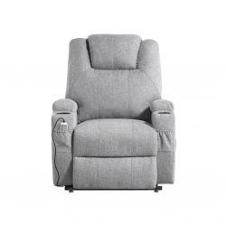 FAR03 - Fauteuil de relaxation électrique releveur massant chauffant en tissu