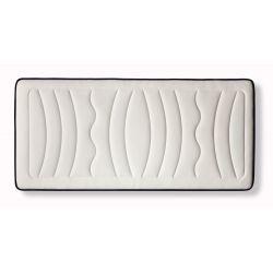 CLOUD - Matelas CLOUD en mousse à mémoire de forme MemoryTex + mousse Ergolattex 26 cm d'épaisseur