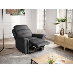 9222 - Fauteuil de relaxation manuel en tissu