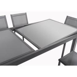 Table de jardin extensible