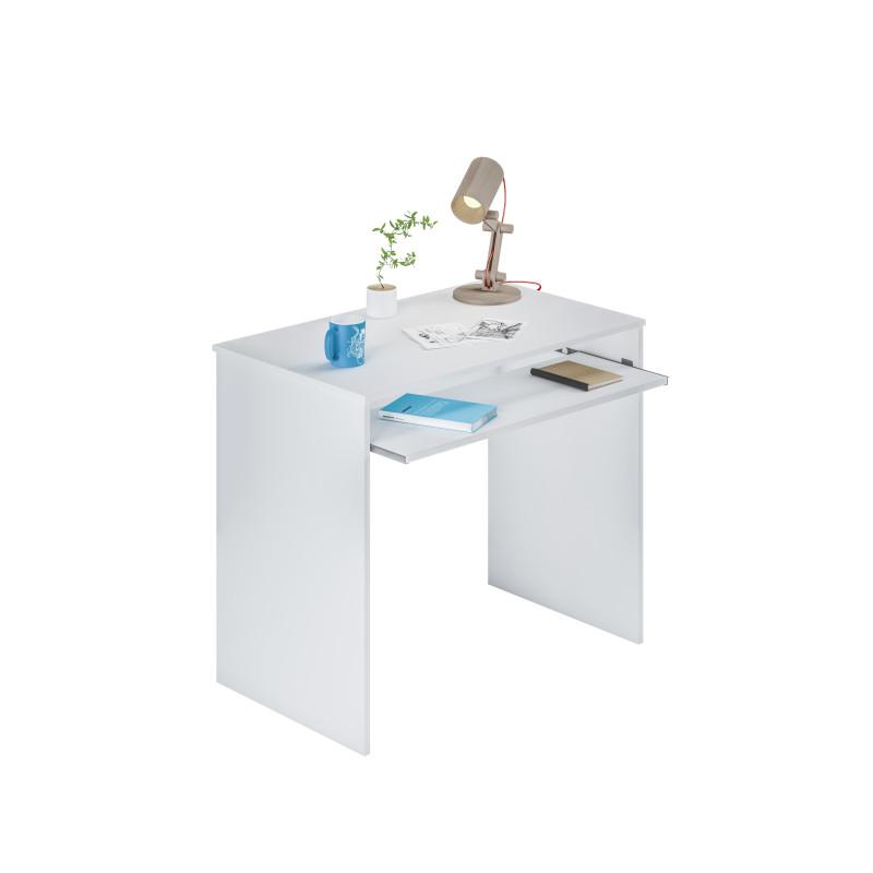 Bureau avec tablette extractible L90 cm