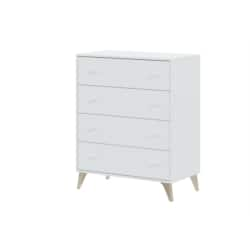 Commode scandinave 4 tiroirs L77,5 cm