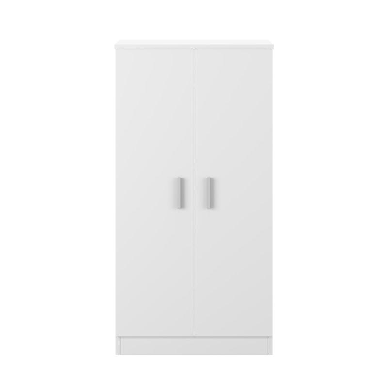 Armoire à chaussures 2 portes (30 Paires) L55 x H108cm