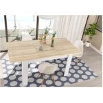 Table à manger extensible L140/190 cm