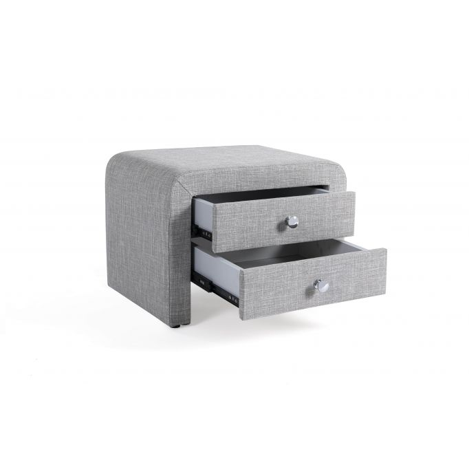 WSS907 - Table de chevet en tissu