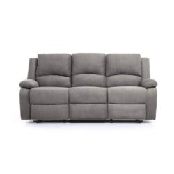 9121 - Canapé de relaxation 3 places en microfibre