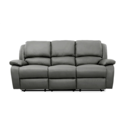 9121 - Canapé de relaxation 3 places en simili