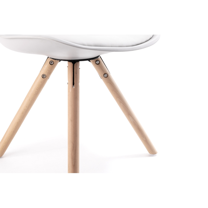 Chaise scandinave pieds croisés