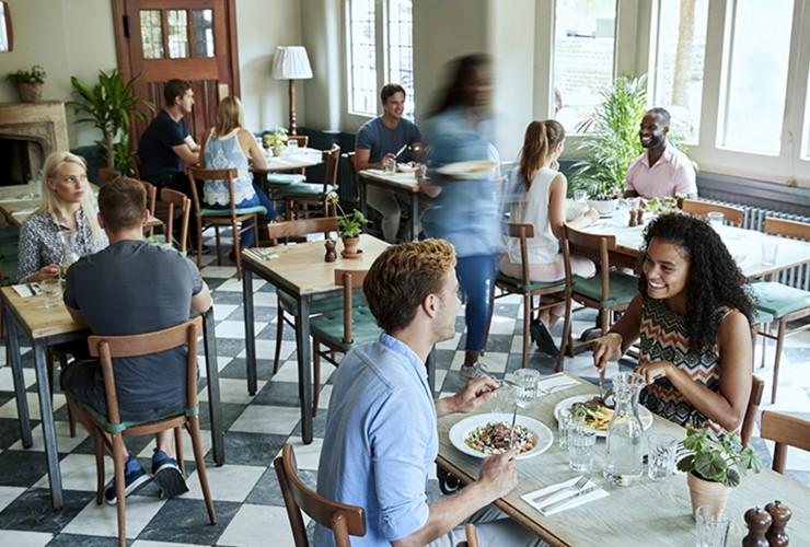 Cafés, Restaurants et Commerces